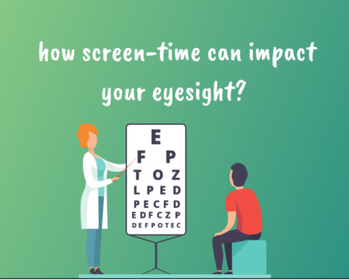 how screen-time can impact your eyesight