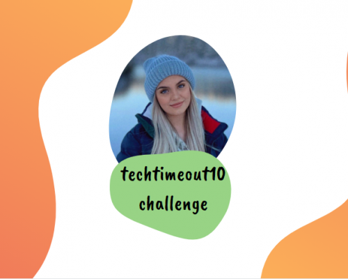 completing the techtimeout10 challenge improved my sleeping pattern
