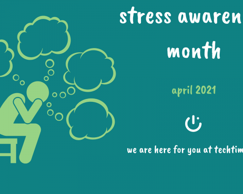 it's national stress awareness month