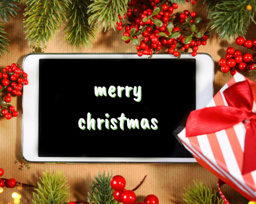 we wish you a 'digital' Christmas?