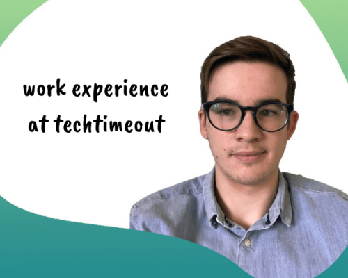 guest blog - what it's like having work experience at techtimeout