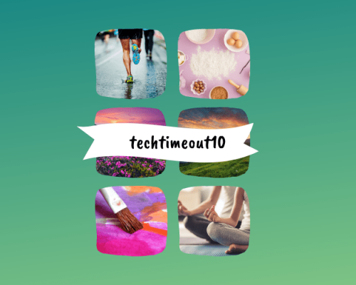Activity inspiration for the techtimeout10 challenge